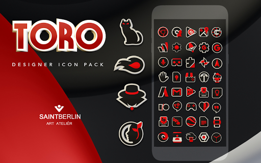 Toro Icon Pack Apps (apk) gratis te downloaden voor Android/PC/Windows screenshot