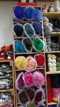 Photo: Wool roving comes in a lot of pretty colors.