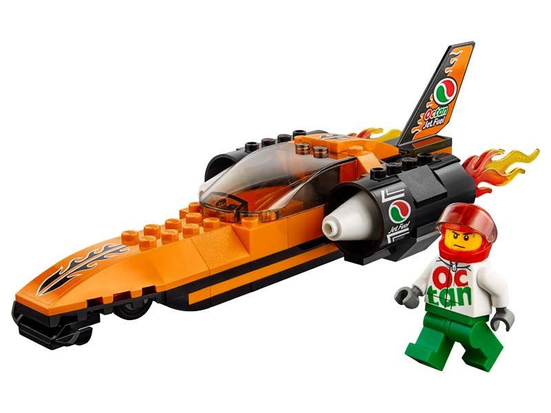 Contenido de Lego® 60178 Coche Experimental