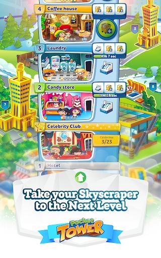Pocket Tower: build & manage  screenshots 2