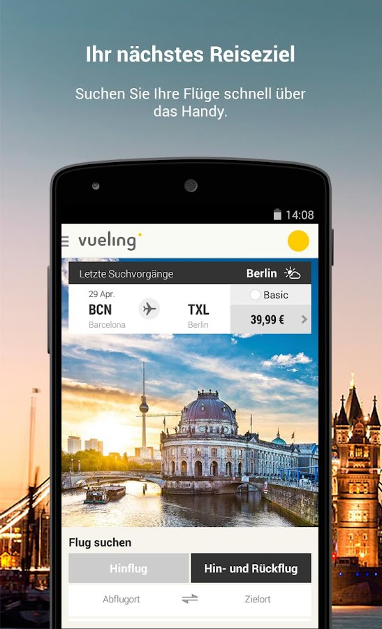 Vueling - Billigflüge – Screenshot