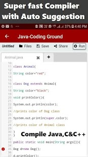 Learn Java Programming [ Compiler Pro ] Screenshot