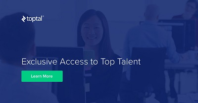 toptal.com homepage how to hire a freelancer