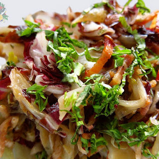 Fennel, Radicchio, and Bacon