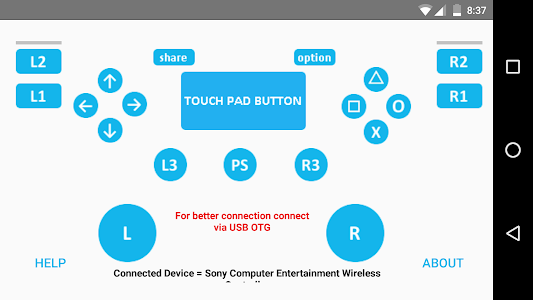 PS4 controller Tester 4 1 0 + (AdFree) APK for Android