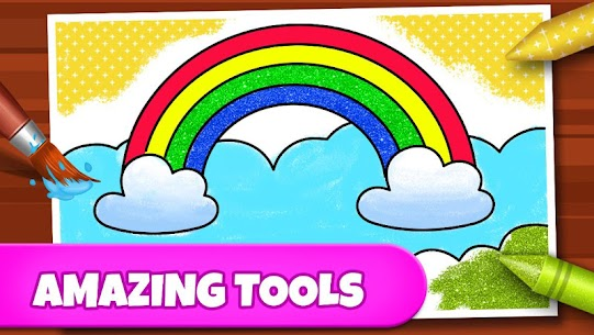 Coloring Games: Coloring Book, Painting, Glow Draw 3
