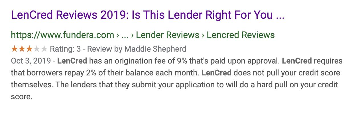 LenCredit Reviews 2020 & 2019