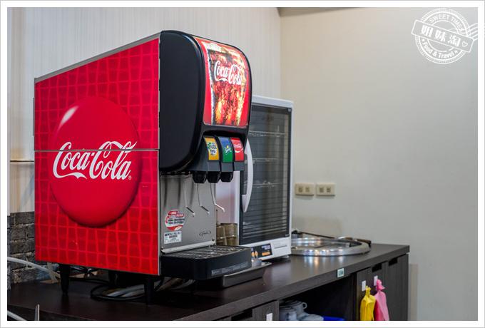 享樂牛排飲料可樂機