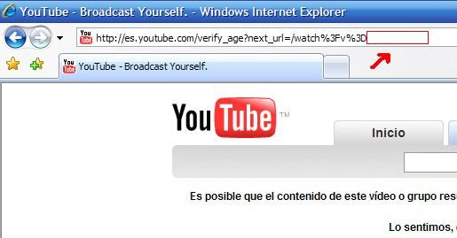 Ver videos de Youtube+18, sin registrarse!