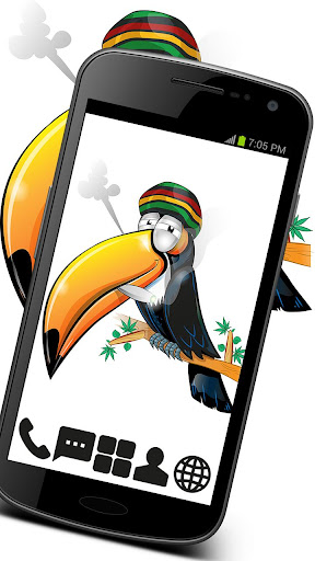 Weed Toucan Theme GO ADW APEX