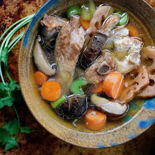Paleo Chinese Chicken Sparerib Soup.