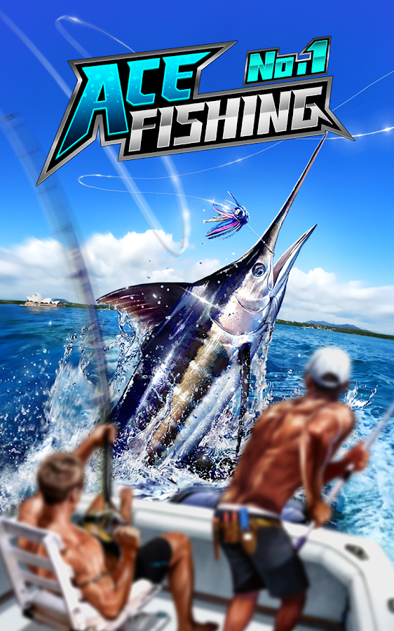 Screenshots of Ace Fishing: Wild Catch for iPhone