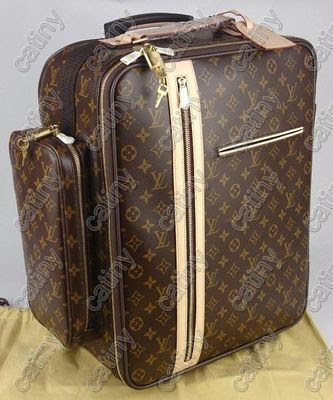louis vuitton lv monogram luggage trolley 60 bosphore. Black Bedroom Furniture Sets. Home Design Ideas
