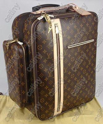 louis vuitton lv monogram luggage trolley 60 bosphore. Black Bedroom Furniture Sets. Home Design Ideas