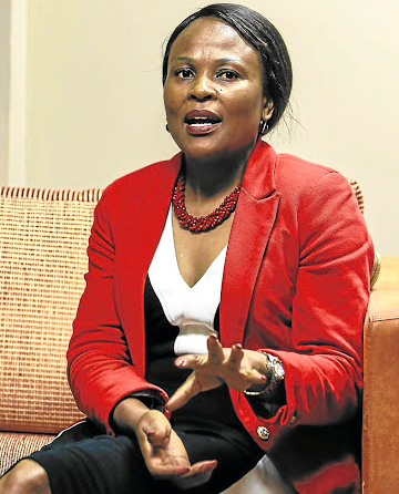 Busisiwe Mkhwebane: A watered-down report? Picture: Sunday Times