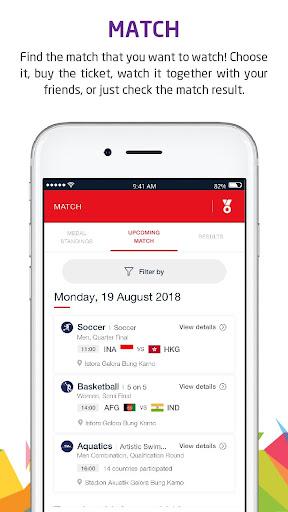 Telkomsel Asian Games screenshot 2