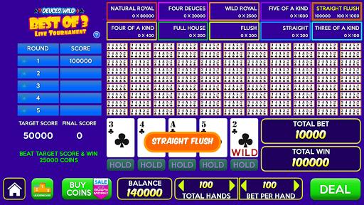 Multi Play Free Video Poker Games  screenshots 4