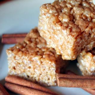 Cinnamon Spice Crispy Treats