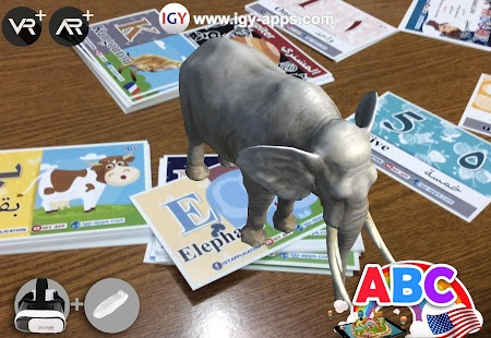 Augmented Reality (AR) kid's Kit 4D Screenshot