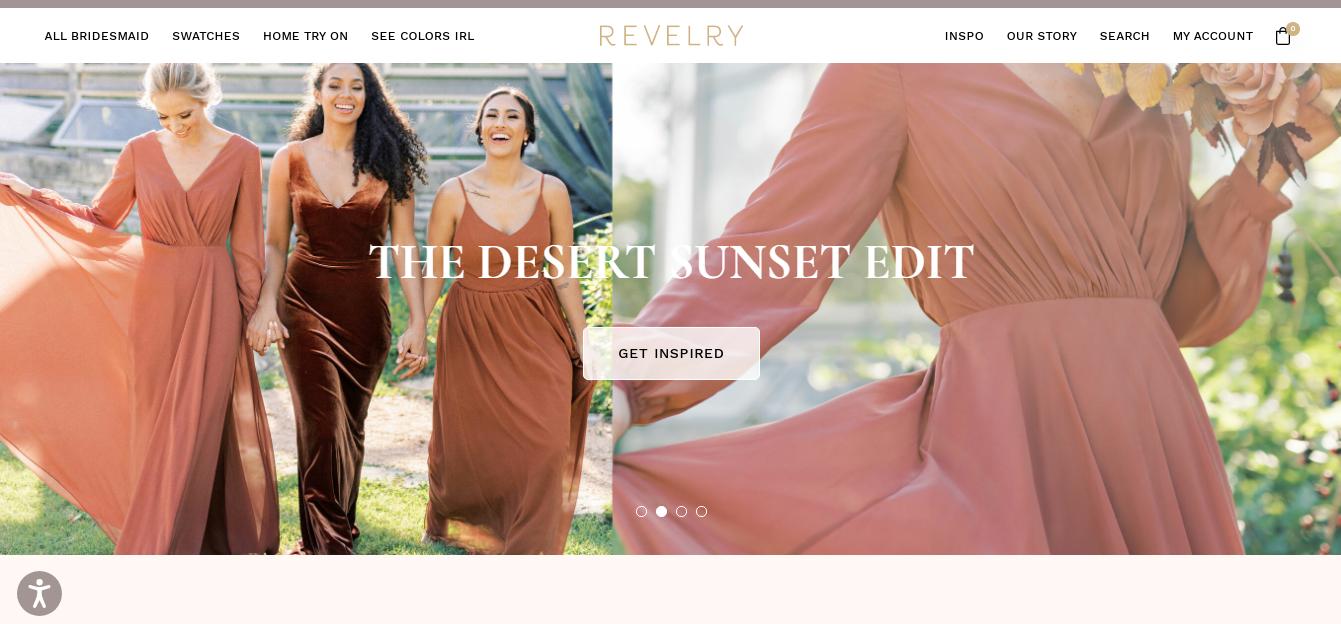 Revelry Landing Page