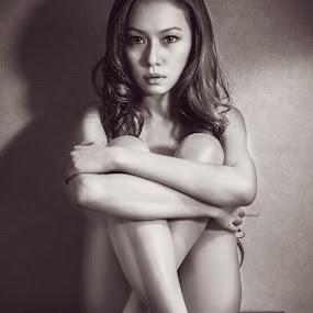 by Mor Wei Huat - People Portraits of Women
