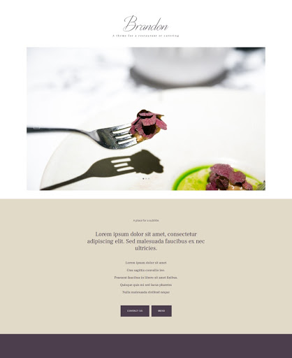 Build a Art of food Website