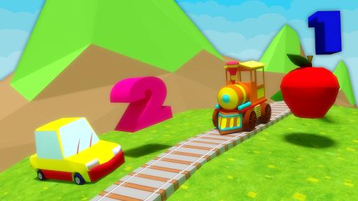 玩免費教育APP|下載Learn Numbers Train 1 to 10 app不用錢|硬是要APP