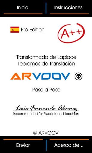 Laplace Teorema de Translación