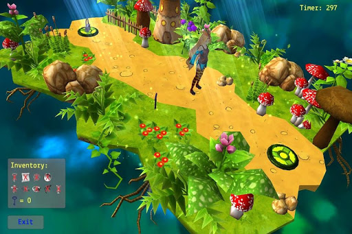 Mushroom Maze Adventure