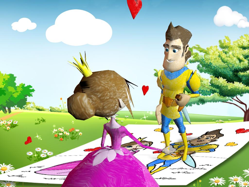 3d coloring pages and play ar app android apps on google play