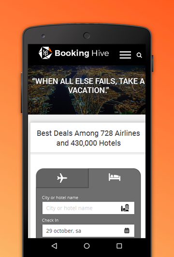 Booking Hive- screenshot