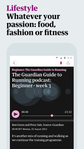 The Guardian screenshot 5