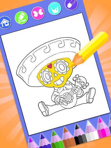 Coloring Book for Brawl bs Stars Color Pages 🌵 1 screenshots 3