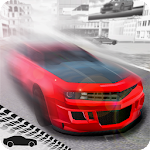 Extreme Muscle Car Driving Icon