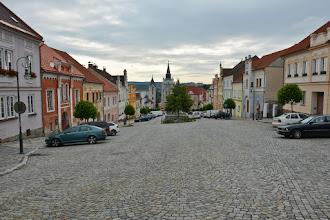 Photo: Kamienice w centrum są dość zaniedbane jak na czeskie standardy.