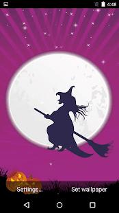 Sezónní Halloween živé tapety - náhled