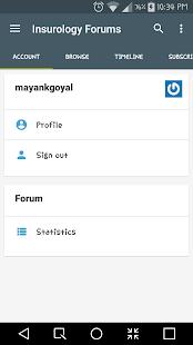 Insurology Actuary Blogs/Forum screenshot