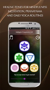 Solfeggio Frequencies 528Hz Screenshot