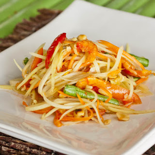 Thai Green Papaya Salad.