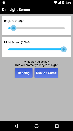 Dim Night Mode Screen - Night Mode Pro app (apk) free download for Android/PC/Windows screenshot