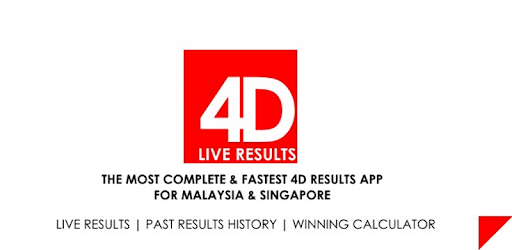 Check4D - Live 4D Results - Apps on Google Play