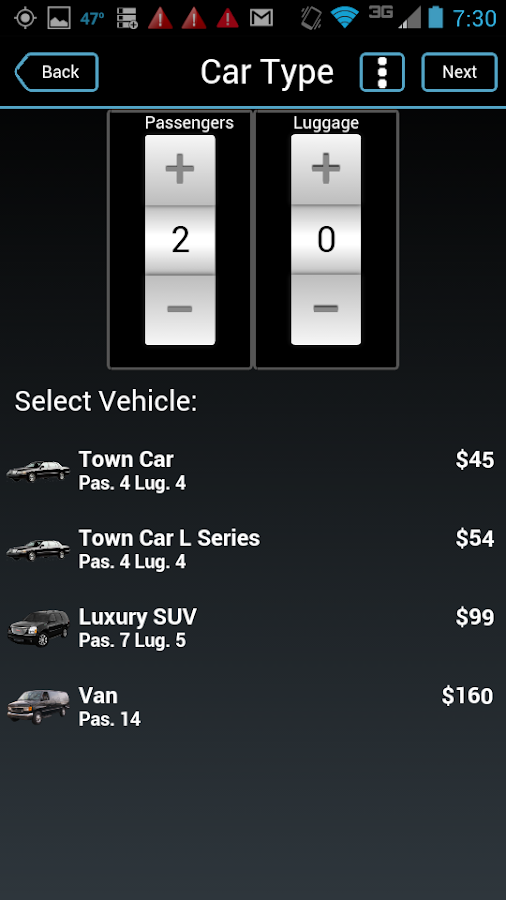 Delux Transportation- screenshot