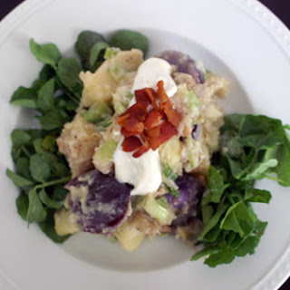 Shannon's Potato Salad Smoked Potato Salad + Horseradish Cream