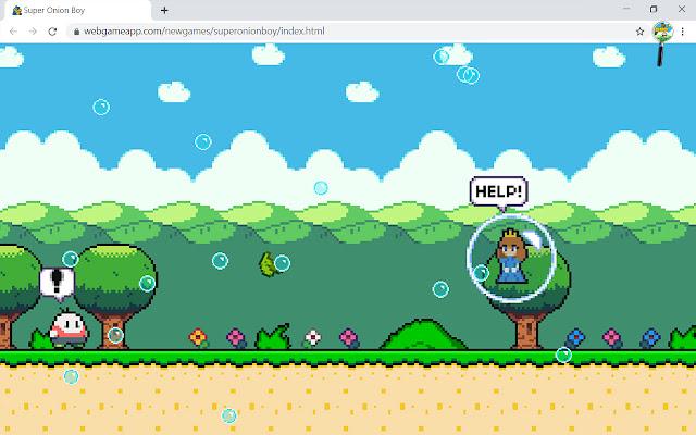 Super Onion Boy Game
