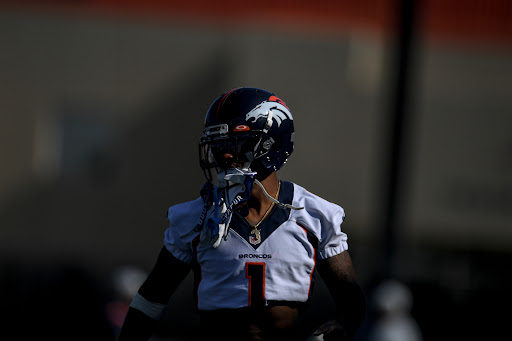 """Broncos receiver KJ Hamler looks to add sizzle in second year: """"I can be a big playmaker"""""""