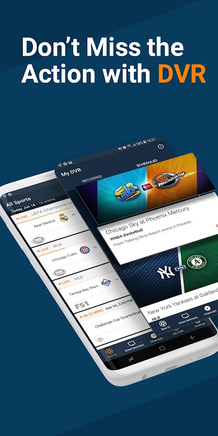 fuboTV - Live Sports & TV- screenshot