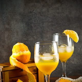 Orange Spritzer, non alcoholic