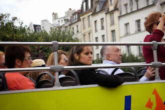 Photo: She's enjoying her bus tour