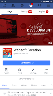 Websoft Creation- screenshot thumbnail