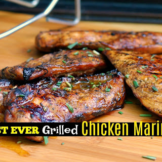 The BEST EVER Grilled Chicken Marinade Recipe